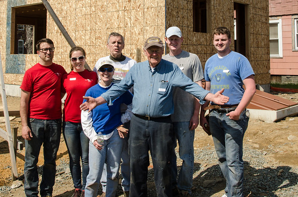 2014-05-03 Thrivent's Habitat Build