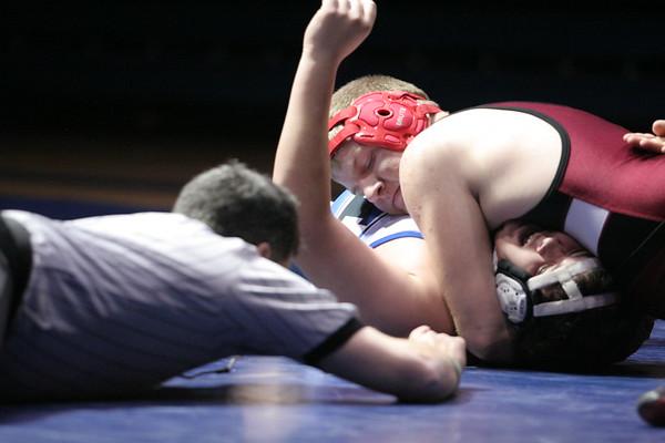 Hillsboro wrestling vs. Carrington
