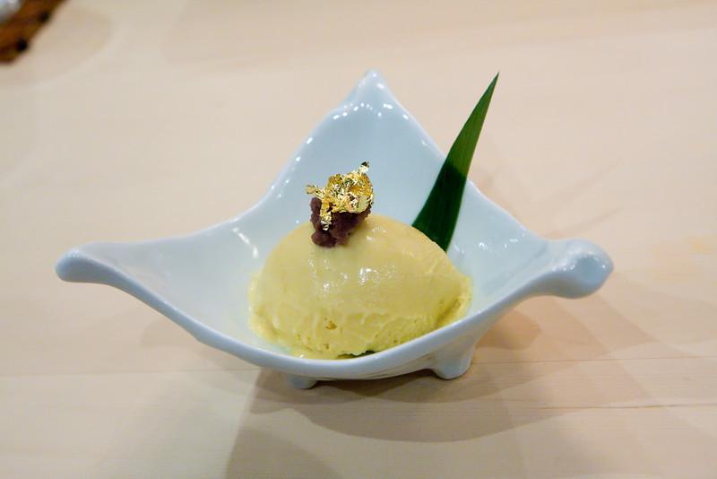Dessert #2: Sesame ice cream.
