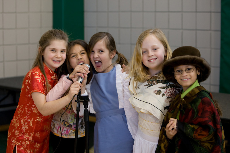 Second Grade Assembly: Immigration