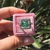 1.60ctw Emerald and Diamond Cocktail Ring 13