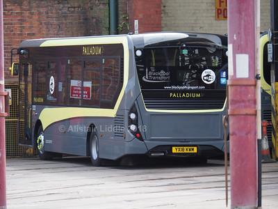 Blackpool Transport ADL Enviro 200's
