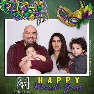 March 05, 2019 - M5250 Urban Luxe Mardi Gras Celebration