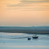 Stranded Boats on the Walney Channel, Barrow-in-Furness, England
