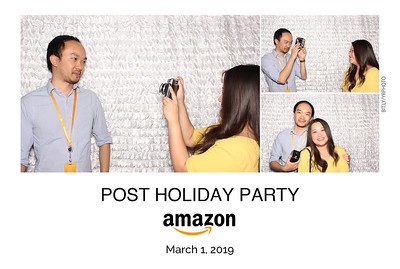 Amazon Post Holiday Party 2019