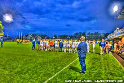 Best of UM Women's Soccer Vs Minnesota 9-12-14