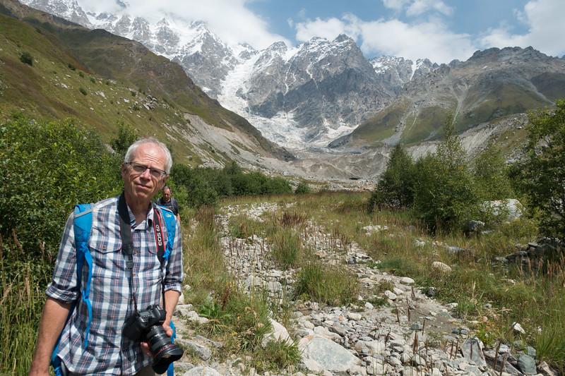 Ushguli, shkhara glacier