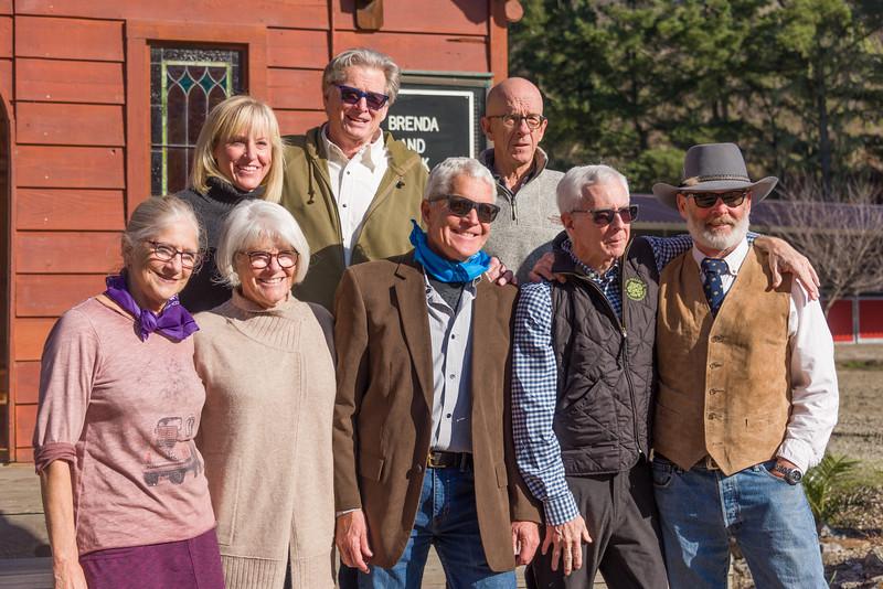 Colorado Crew: Lindsay, Kevin, Hymie, Kathy, Kathay, Harv, Wiley, Walt