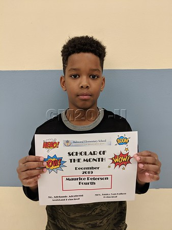 Scholar of the Month- December