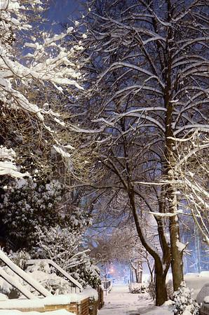 St Patrick's Snow 2014