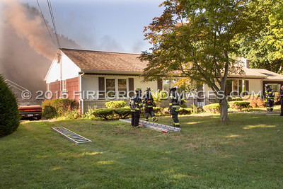 Greenfield Dr. Fire (Ansonia, CT) 8/12/15