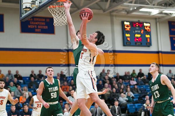 Wheaton College Men's Basketball vs Illinois Wesleyan, January 23, 2019