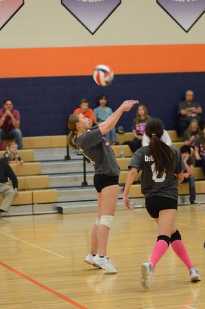 Girls Freshmen B Volleyball Vs Oswego 2013