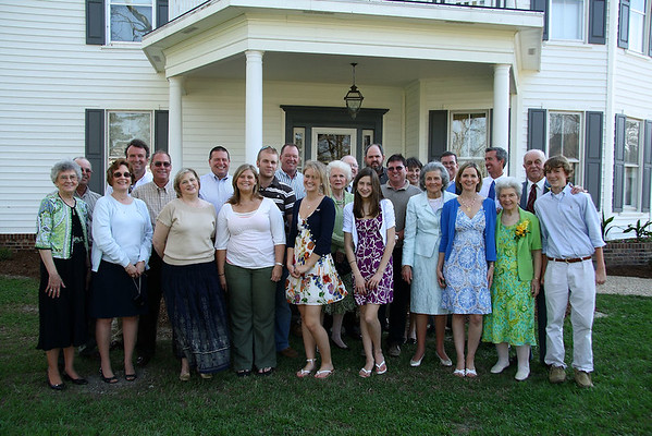 Harrell Family Reunion, North Carolina April 2009