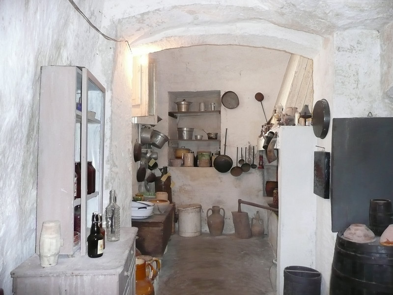Example of how people lived in Matera up until the 1950s