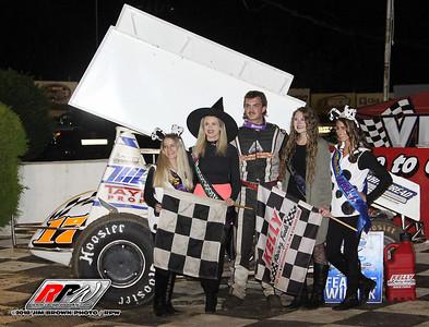 Grandview Speedway - 10/13/18 - Jim Brown