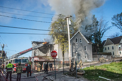 Structure Fire 255 Walnut St Waterbury,CT 04/23/21
