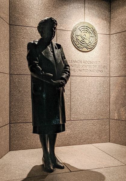Commemorating Eleanor Roosevelt's role with the UN