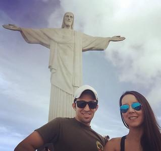 Le & Erika no Brasil - maio/16