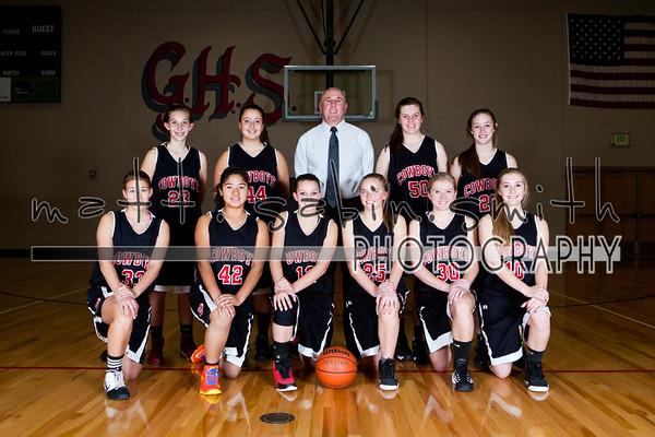 GHS Girls Basketball 2013-14