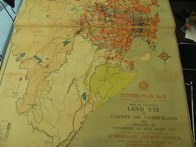 Land Use in County of Cumberland 1945