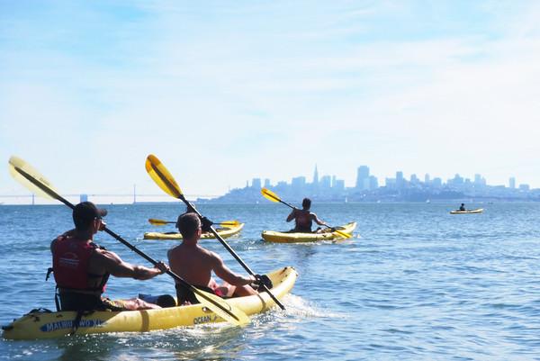 Sausalito Kayaking: Nov 8, 2014