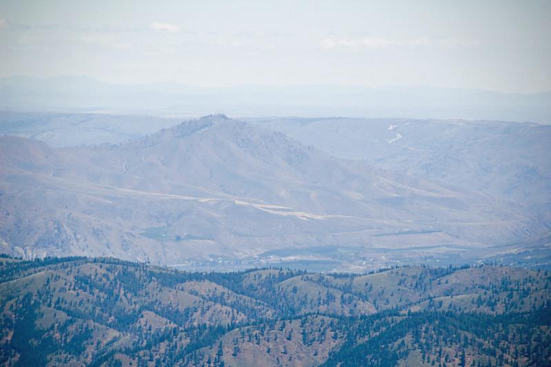 Chelan Butte (Peak?) from Chumstick.