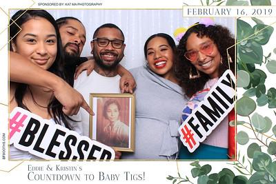 Eddie and Kristin's Baby Shower - February 16, 2019