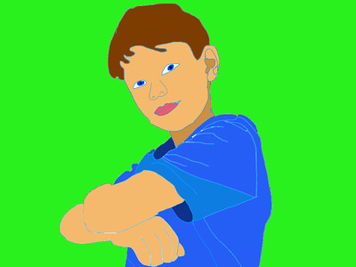 4th Grade - Selfie Self Portraits