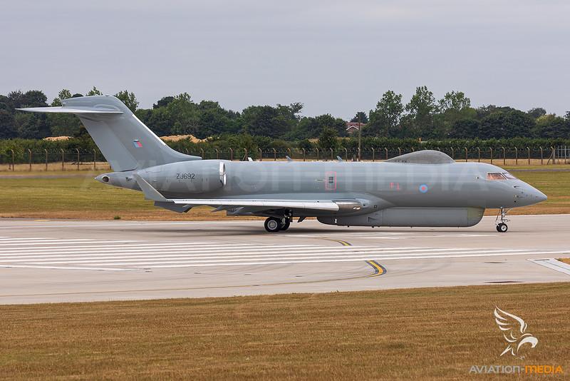 United Kingdom - Royal Air Force (RAF) / Bombardier Sentinel R.1 / ZJ692
