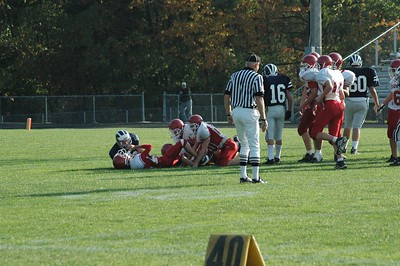 Boys Freshman Football  - 10/13/05 Fruitport