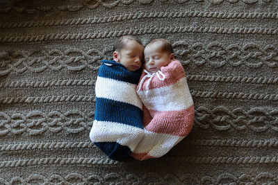 Dash and Bailey's Newborn Portraits