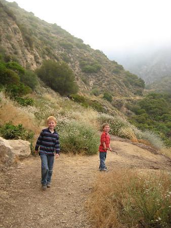 Rubio Canyon/Lower Canyon Hike - July 4, 2012