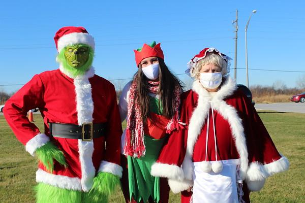 Crown Point Santa Parade 2020