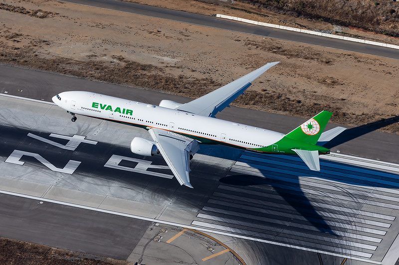 Eva Air 777-300ER - B-16713 - LAX