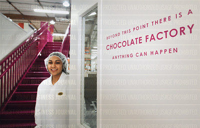 Behind the scenes at Seattle Chocolate's manufacturing facilities in Tukwila, Wash.