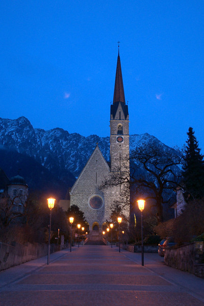 Liechtenstein church at dusk.jpg