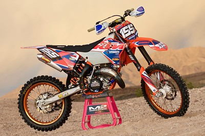 Jillian Goodart's 2007 KTM 144SX