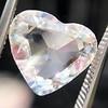 2.19ct Heart Portrait Cut Diamond, GIA J SI1 11