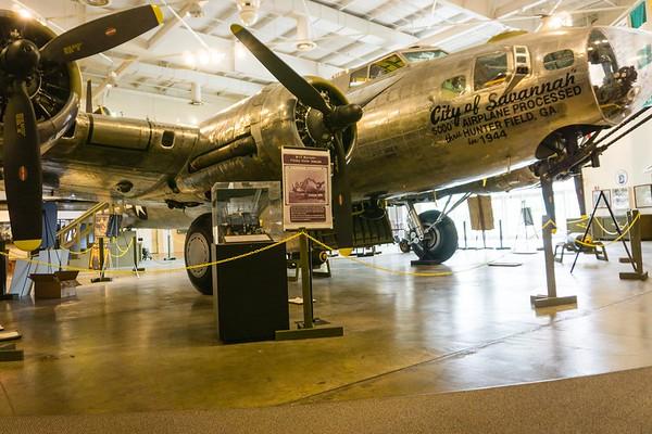 Mighty Eighth Airforce Museum & Savannah Ga