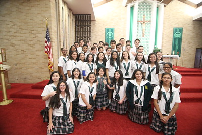 StG 8th Grade Cross Ceremony Class of 2018