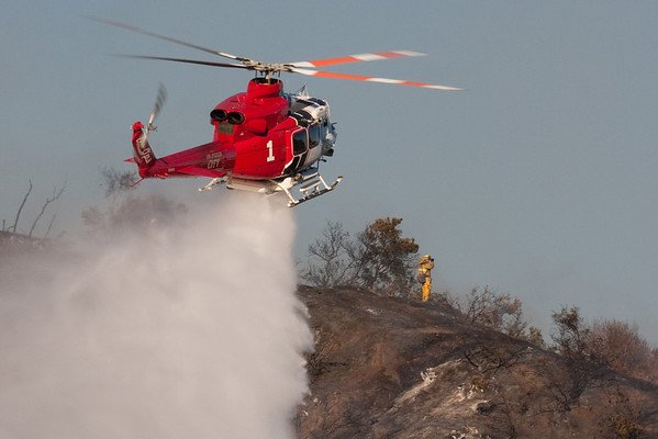 Mountain Gate IC - Brush Fire - Los Angeles