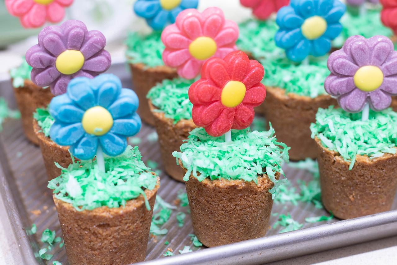 Easy Desserts: Spring Flower Pots