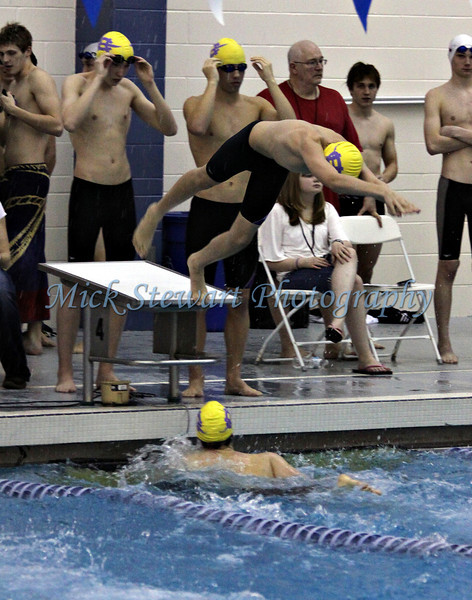 Swimming-Boys 400 yd Freestyle Relay
