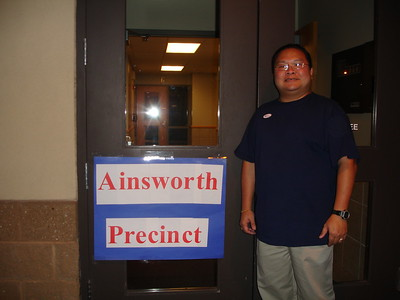 2006-11-07 Alvin First time voting