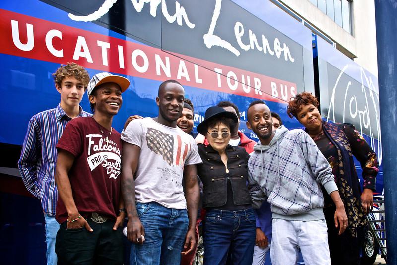 Meltdwon_Yoko_Lennonbus_Outside_Students_1.jpg