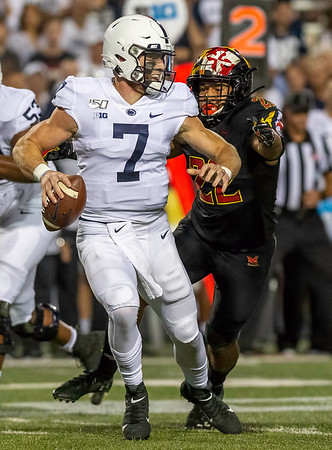 College Football: Maryland vs. No. 12 Penn State