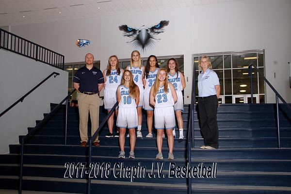 2018 Girls Basketball JV