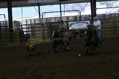 Llano County Team Roping 1st Round