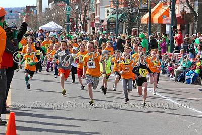 St Patrick's Day Leprechaun Fun Run, 2013